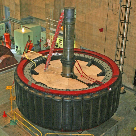 Generator at The Hover Dam